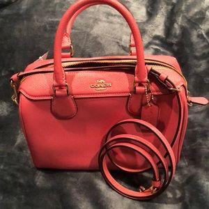 GOREGOUS pink Coach purse